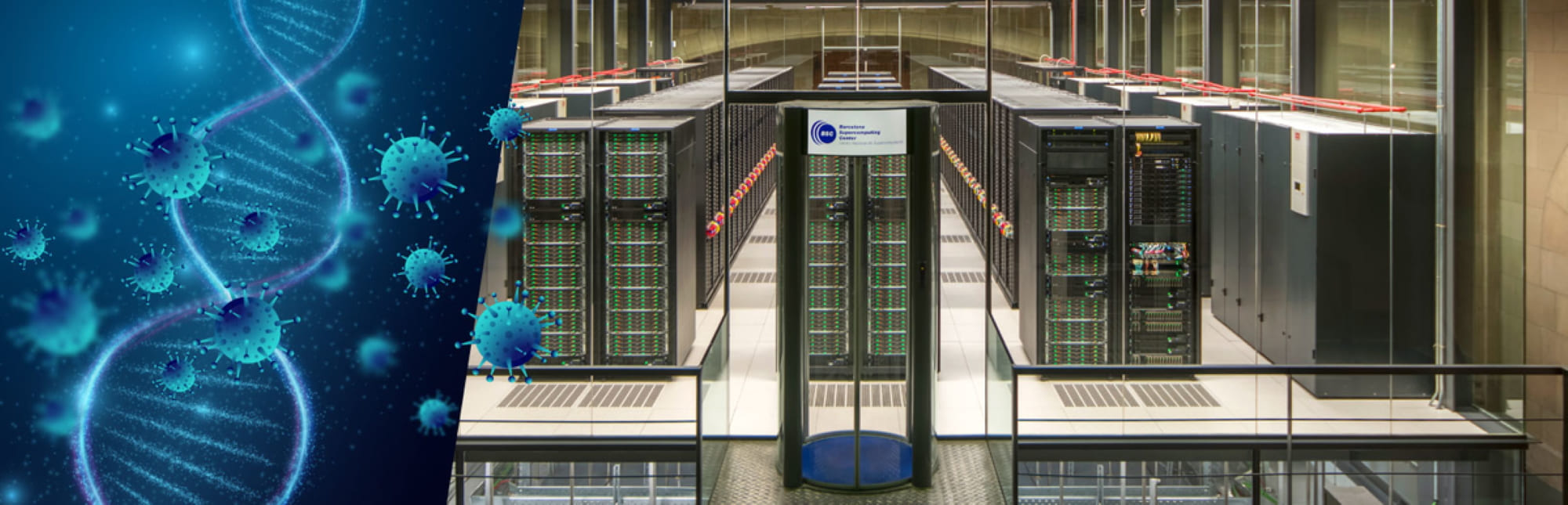El supercomputador Marenostrum, ubicado en el Barcelona Supercomputing Center